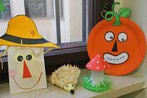 V Muzeu Kroměřížska si děti v sobotu vyráběly podzimní výzdobu. Duchy, dýně i čarodějnice