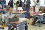 První školní den na základní škole Zachar