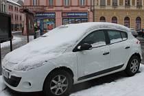 Na Kroměřížsko opět zavítal sníh