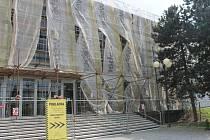 V Kroměříži aktuálně opravují Dům Kultury