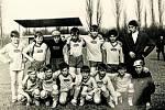 BÍLANY, MLADÍ FOTBALISTÉ. V roce 1921 v Bílanech vzniká pobočka kroměřížského Sokola. Po II. světové válce byl ještě několikrát obnoven. Členové se věnovali cyklistice, volejbalu, ale samozřejmě i fotbalu.