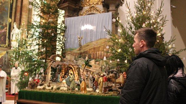 Štědrovečerní mše svatá v Kroměříži