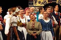 Sokolská župa Hanácká slaví 115 let od svého založení a město Kroměříž 750 let. Při té příležitosti uvedla v kroměřížském Domě kultury Prodanou nevěstu v podání sokolského divadelního souboru z Pyšel.