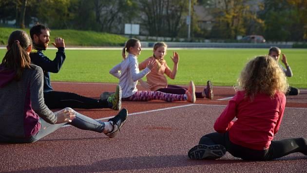 Atletický areál na Stadionu Míru v Holešově