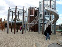 Na výstavišti Floria už otevřeli venkovní část Dětského světa a skate park.