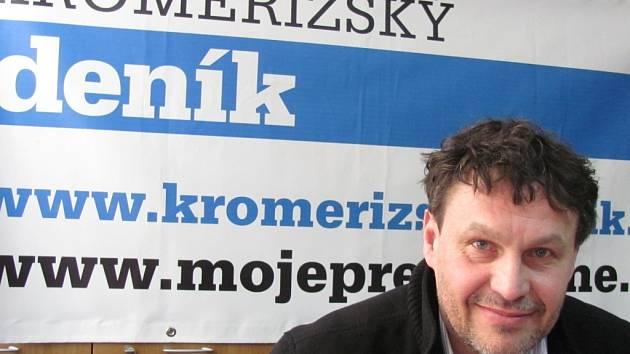 Ředitel Domu kultury v Kroměříži Jiří Králík