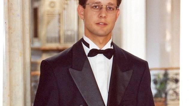Varhaník Petr Čech.