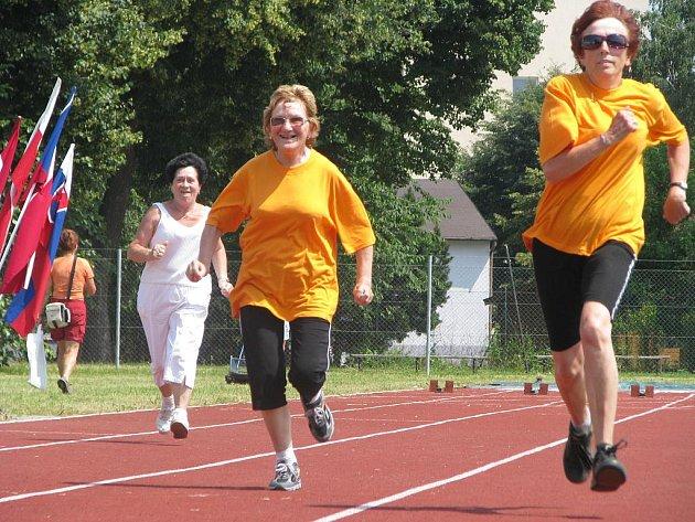 Sportovní olympiáda pro seniory v Kroměříži