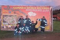 Na seznamu jednotek bojujících o světový rekord se našly i dvě z Kroměřížska.