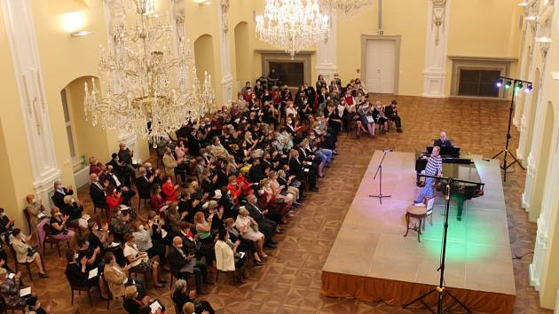 Soňa Červená ohromila holešovské publikum.
