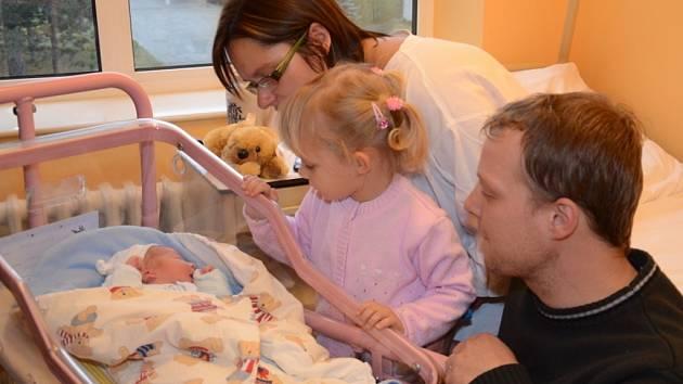 První dítě v roce 2014 se narodilo v Kroměřížské nemocnici. Jmenuje se Vojtíšek Opravil, váží 3600 gramů a měří padesát centimetrů.