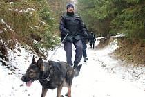 Cvičná policejní pátrací akce se uskutečnila 6. února v Hostýnských vrších.