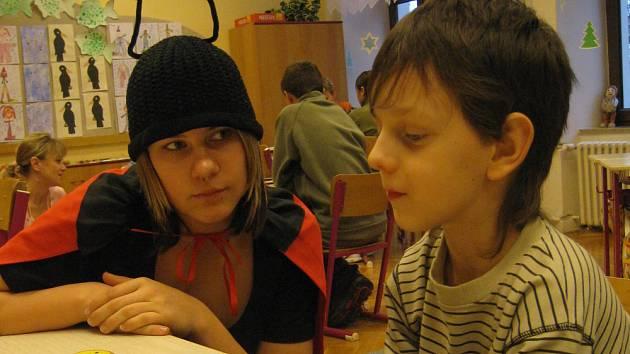 V kroměřížské základní škole na Komenského náměstí se v úterý 3. a ve středu 4. února konaly zápisy dětí do prvních tříd.
