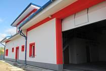 Nová hasičská zbrojnice ve Zdounkách