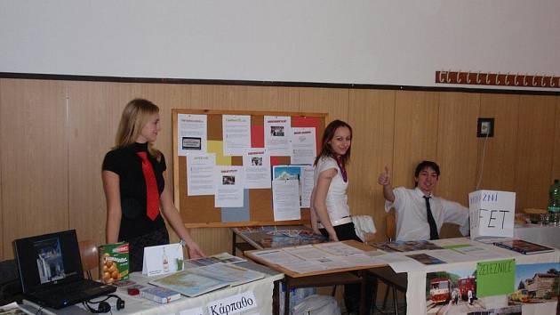 Studenti prezentovali Valašsko za hranicemi.
