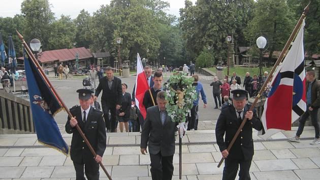 Pouť v obci Jankovice na Hostýně 23.6.2018, kde s námi byli přítomni i obyvatelé Gminy Sitno.