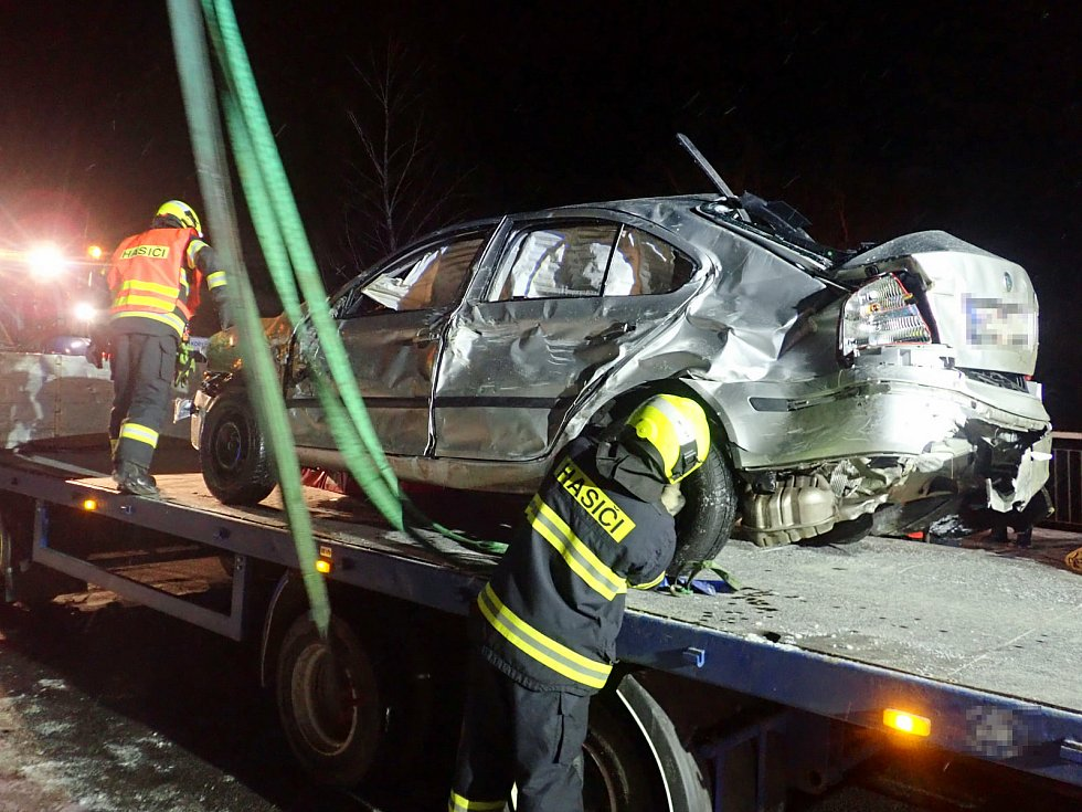 Nehoda v Koryčanech - 16. ledna 2020