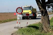 Cesta mezi Pravčicemi a Němčicemi je uzavřena.