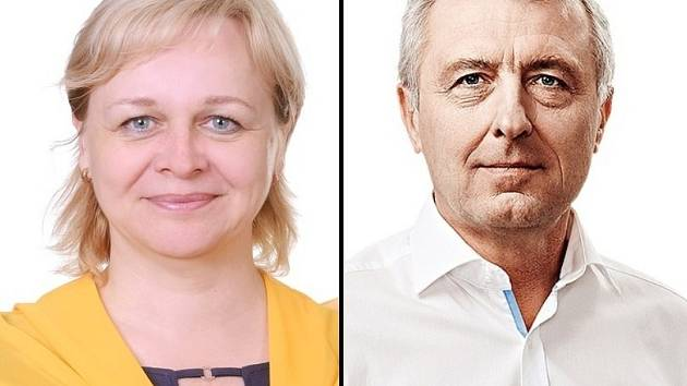 Šářka Jelínková (KDU-ČSL); Jan Hašek (2011).
