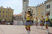 Již 16. ročník Dne tance proběhl na Velkém náměstí v Kroměříži 15. června 2019.
