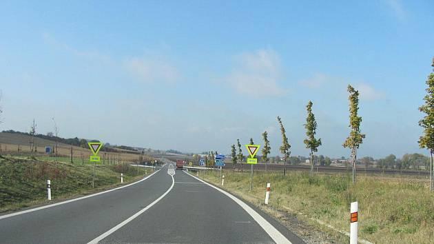Na křižovatce u Bezměrova ubylo nehod