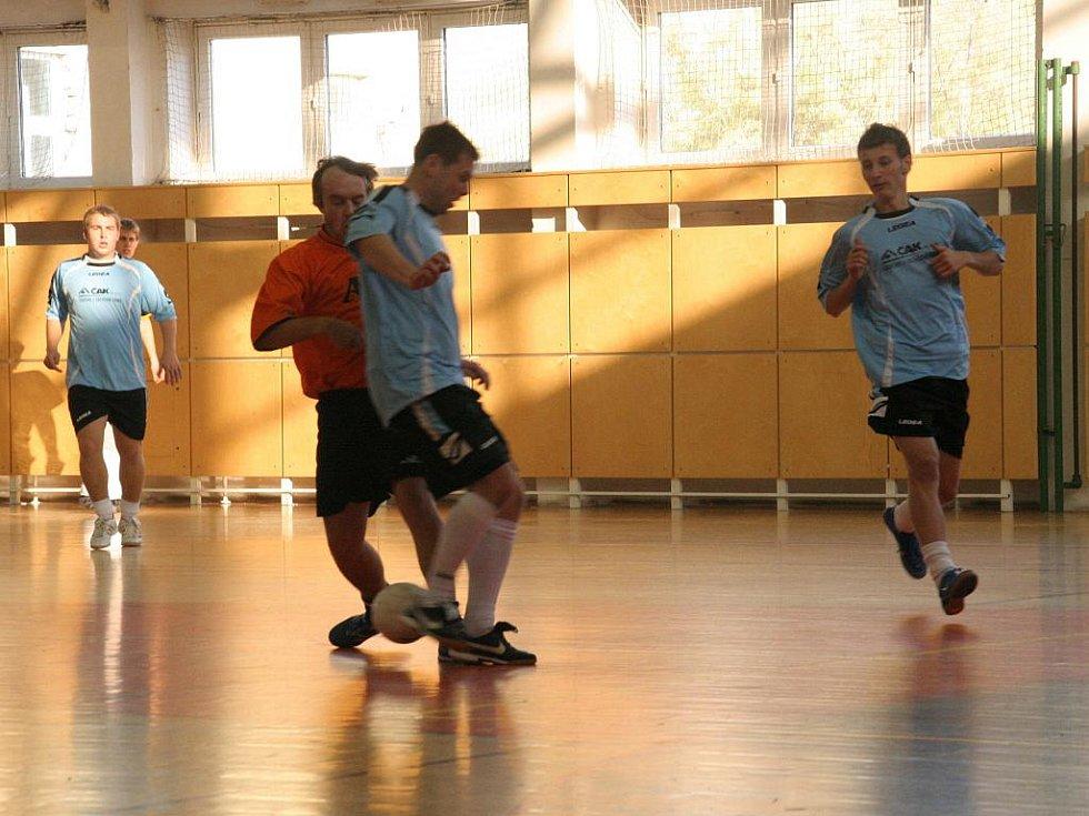 Futsalisté Zdounek dokázali získat bod v souboji s Retro KSK Holešov