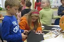 V úterý 27. října 2009 v Městské knihovně Hulín uspořádaly tamní pracovnice halloween pro děti