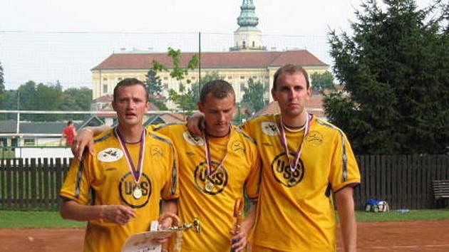 Vítězné trio.
