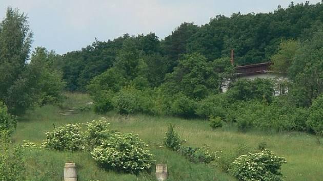 Bývalá raketová základna u Kroměříže.