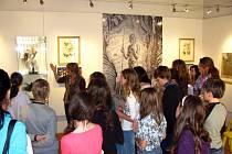 Muzeum Kroměřížska otevřelo novou netradiční výstavu spojenou s interaktivním programem pro školy Ateliér podle Maxe Švabinského.