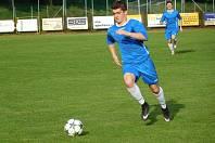 Fotbalisté Morkovic ve 23. kole I. B třídy skupiny C přestříleli Nedakonice 4:3. Všechny branky domácího týmu vstřelil Radim Zápařka.