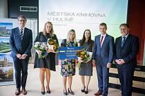 Ocenění Knihovna Zlínského kraje 2021.