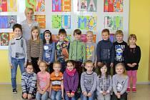 Tablo dětí z letošní první třídy 2. ZŠ v Holešově s třídní učitelkou Mgr. Kateřinou Zacharovou vychází v rámci projektu Naši prvňáci v Kroměřížském deníku ve středu 3. ledna.