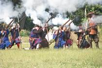 V sobotu 12. července 2008 sehráli herci na Pionýrské louce v Kroměříži rekonstrukci bitvy, kdy Švédové dobyli Kroměříž, a to v roce 1643.