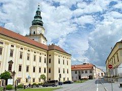 Arcibiskupský zámek v Kroměříži. Ilustrační foto
