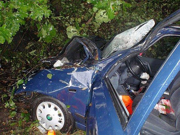 Nehoda felicie u Chropyně