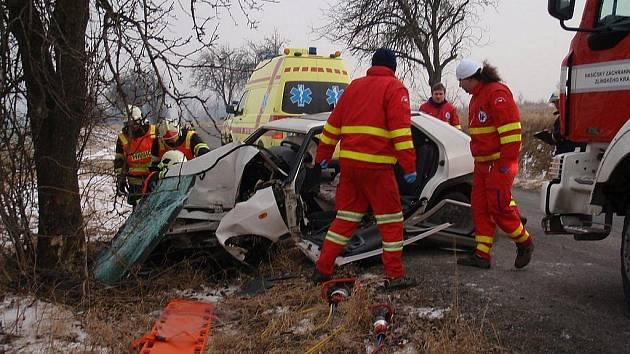 Smrtelná dopravní nehoda u Kurovic.