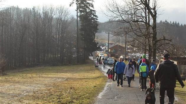 Výzva pro návštěvníky Hostýnských vrchů.