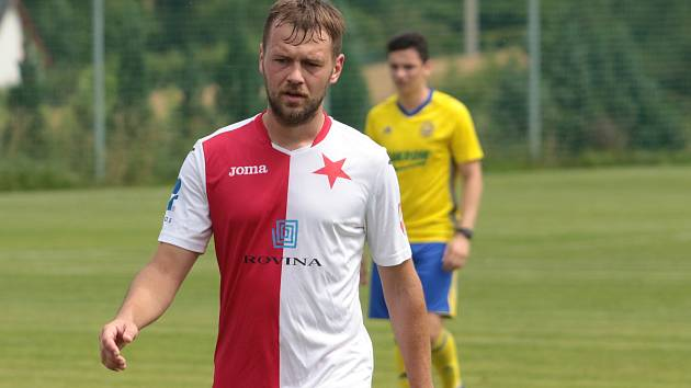 Fotbalisté Kroměříže prohráli v přípravě s juniorkou Slovácka 1:3.