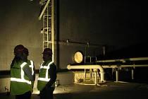 Nové skladovací nádrže na benzin a naftu společnosti Čepro v Loukově