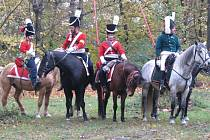 Bitva rekonstruovala válečné události z roku 1805.