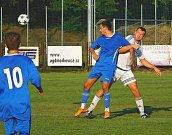 Čtyřiadvacetiletý útočník Morkovic David Tesař se v zápase s Boršicemi blýskl čtyřmi přesnými zásahy.