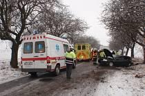 Nehoda u Ratají na Kroměřížsku