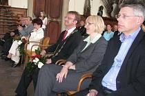 V Chropyni si ve čtvrtek 29. dubna 2010 připomněli čtyřicáté výročí stanovení obce Chropyně městem.