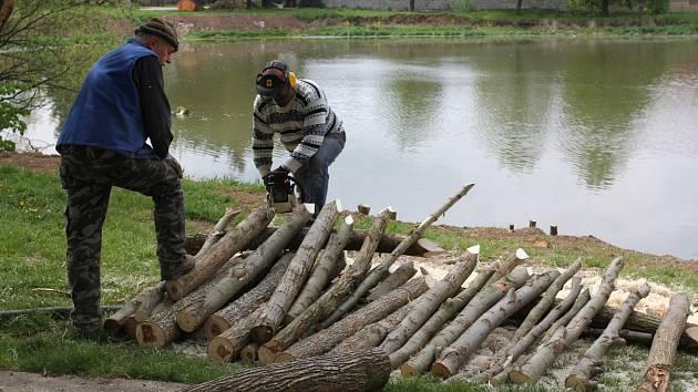 Revitalizace rybníka Ovčáček v Morkovicích