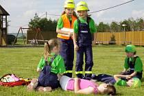 Zábavné odpoledne pro děti a rodiče v Třeběticích nabídlo pestrý program