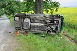 U hlavního aktéra nehody, která se stala v sobotu 14.5. mezi Kvasicemi a Novou Dědinou prokázal test užití drog.