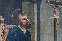 Obraz sv. Jana Sarkandra ve Zdounkách.
