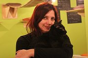 Kateřina Vachová a její Kočičí kavárna