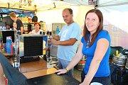 Od 9. do 11. srpna 2018 se v rekreačním areálu Kamínka v Roštíně konal další ročník Pivních slavností. Představila se řada kapel, ochutnat lidé mohli zhruba čtyřicítku druhů piv, nechyběly ani pivní soutěže. Za pípu jednoho z pivovarů se postavila i Zuzan